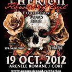 Programul concertului Therion la Bucuresti