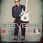 Steve Vai: Concert joi la Bucuresti
