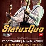Castiga doua invitatii duble la concertul Status Quo de la Bucuresti!  (8 - 15 oct)
