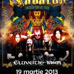 Concertul Sabaton - Eluveitie - Wisdom se indreapta spre un eveniment Sold Out!