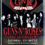 Guns N Roses ajung pentru prima data in Indonezia
