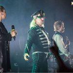 Poze cu Therion in concert la Arenele Romane