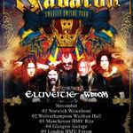 Sabaton vor filma un DVD in Londra
