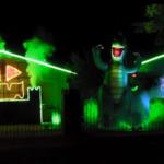 Halloween: Un joc de lumini Ozzy Osbourne terorizeaza locuitorii din Texas (video)
