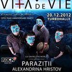 Vita de Vie anuleaza concertul acustic din Bucuresti