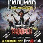 Vino la Manowar release party si poti pleca acasa cu o chitara electrica