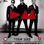 F.O.X. canta in deschiderea concertului Depeche Mode la Bucuresti