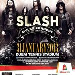 Slash a cantat cu Alice Cooper in Dubai (video)