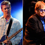Elton John inregistreaza pentru noul album Queens Of The Stone Age