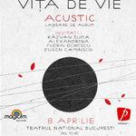 Concurs: 10 invitatii la concertul acustic Vita de Vie