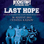 Concert Last Hope la Rockstadt Extreme Fest la Rasnov