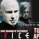Device (David Draiman): Filmari cu intreg concertul din Texas