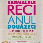 Concurs: Castiga trei invitatii duble la concertul Sarmalele Reci din Bucuresti
