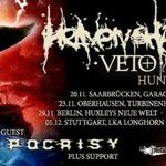 Heaven Shall Burn si Hypocrisy pornesc in turneu european
