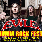 Concert Evile la Maximum Rock Festival