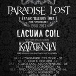 Paradise Lost si Katatonia pornesc in turneu european