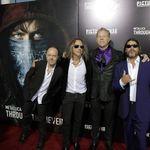 Metallica la premierea filmului