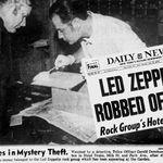 40 de ani de la jefuirea formatiei Led Zeppelin