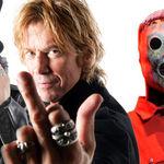 Slash, Corey Taylor, Duff McKagan si Glenn Hughes intr-un spectacol caritabil (video)