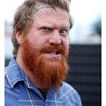Brent Hinds (Mastodon) in reclama unui salon de tatuaje