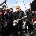 Primele poze de la concertul Metallica sustinut in Antarctica