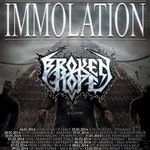 Immolation si Broken Hope pornesc in turneu european
