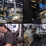 Omagiu pentru Jeff Hannemann la NAMM 2014 (video)