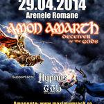 Program si reguli de acces la concertul Amon Amarth de la Bucuresti