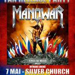 AURA canta la MANOWAR Release Party - pe 7 mai la Silver Church