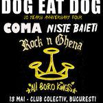 Programul concertului Dog Eat Dog la Bucuresti