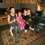 Trei copii romani au deschis pentru Rammstein in America (video)