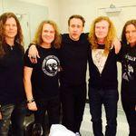 Nicolas Cage e fan Megadeth