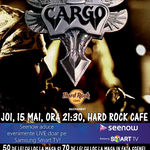 Concert Cargo, joi seara la Hard Rock Cafe