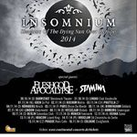 Insomnium si Fleshgod Apocalypse pornesc in turneu european