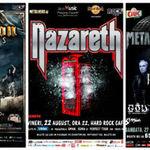 Pachete bilete + cazare, la METALHEAD Meeting 2014 bis, Nazareth si Sabaton