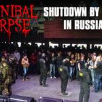 Concertele Cannibal Corpse din Rusia, oprite de trupele speciale