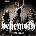 Poze cu Behemoth in club Colectiv din Bucuresti
