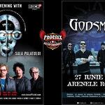 27 Iunie - o seara a premierelor cu Toto si Godsmack
