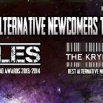 Best Alternative Newcomers Tour - Pinholes si The Kryptonite Sparks