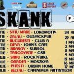 Ska-nk pleca in turneul national de promovare a noului album