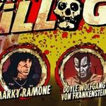 Marky Ramone (Ramones) si Doyle Wolfgang Von Frankenstein (Misfits) eroi intr-un film animat cu zombie - video