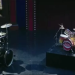 Dave Grohl in competitie cu Animal de la Muppets - video