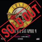 2.500 de dolari biletul VIP la concertele Guns