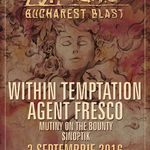 Fotografii de la Within Temptation, Agent Fresco si Mutiny On The Bounty
