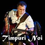 Berti Barbera (percutii) si Sabin Penea (vioara) canta cu Timpuri Noi la Hard Rock Cafe pe 19 mai