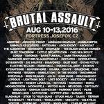 Fotografii de la festivalul Brutal Assault 2016