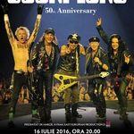 Metrock si 9,7 Richter vor canta in deschidere la Scorpions