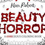 Alan Robert a lansat prima carte horror de colorat