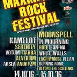 Program si reguli de acces la Maximum Rock Festival 2016