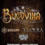 Bucium, Tiarra si Untold Faith canta alaturi de Bucovina pe 17 decembrie la Arenele Romane